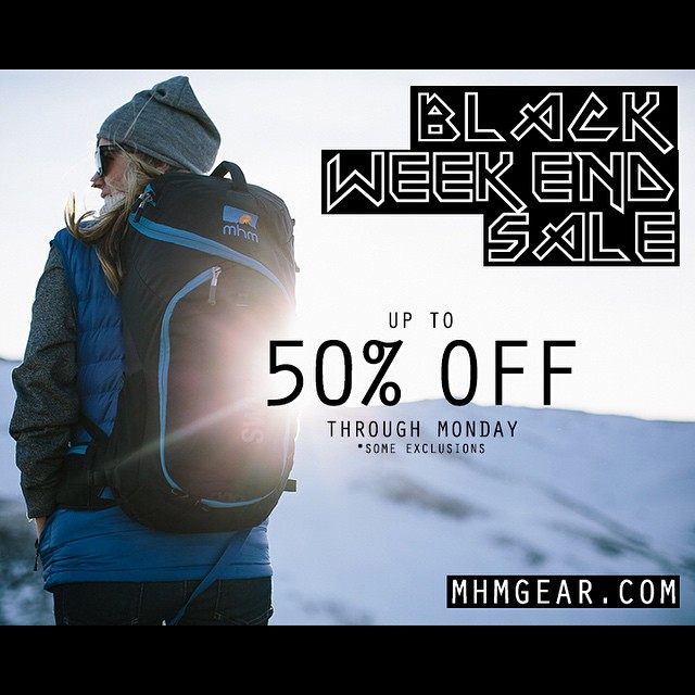 We're letting you in on the sale a bit early... Up to 50% OFF through Monday! Now, off to gorge myself on stuffing and bourbon. Happy Thanksgiving all! #blackweekend #sale #blackfriday #outdoor