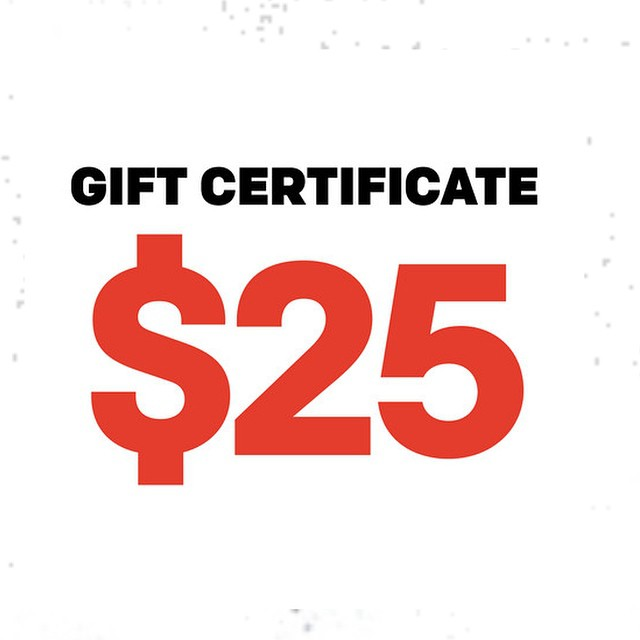 Need a gift for those difficult to shop for people in your life? Go grab a gift certificate from our online store. Link in our bio.