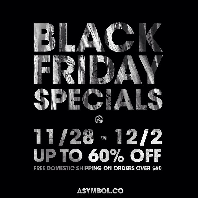 Support the community of artist, photographers, and craftsman that bring it all to the table...and save some loot while you do.  http://asymbol.co/collections/sale  #asymbolart #asymbolsale #blackfridaywhiteroom