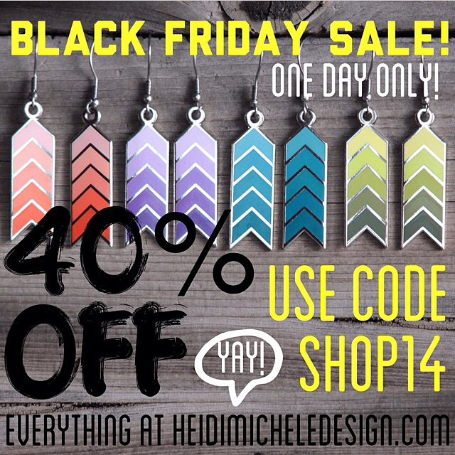 Ya!!! Heidi Michele Design #BlackFriday sale! Get it while it's hott!!! #heidimicheledesign #hmd