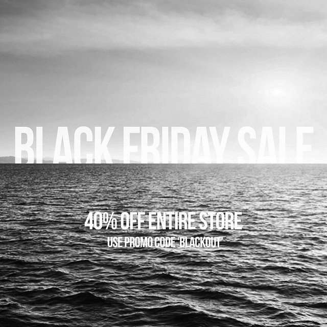 BLACK FRIDAY SALE STARTS NOW!! USE PROMO CODE BLACKOUT FOR 40% OFF - FRIDAY ONLY! #Kameleonz #BlackFriday #Sale #ThisIsMyBeach #LifesABeach Kameleonz.com