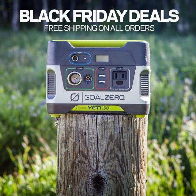 Follow the link in our profile to check out the Black Friday Specials. It's easier than staying up all night and running through a store to fight for the best deal.