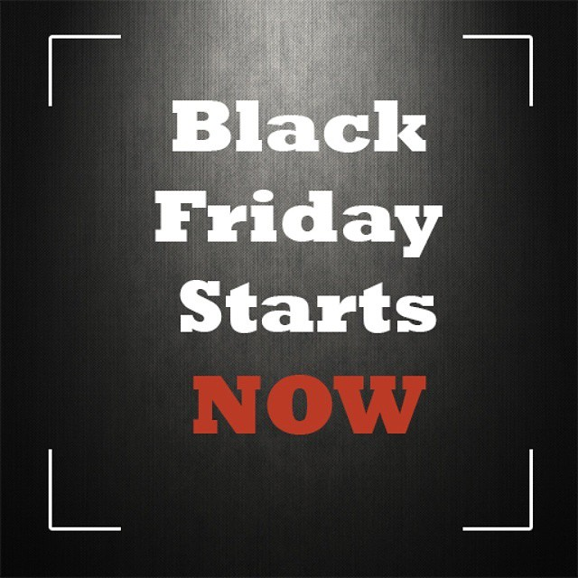 For a limited time only use code BlackedOut to save 25% off EVERYTHING in our store! Stay tuned throughout the day for more surprise codes #blackfriday #justintime