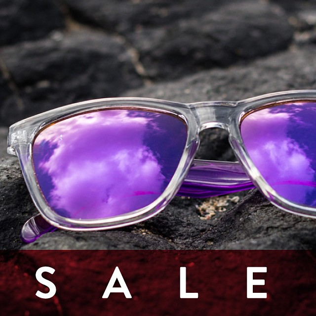 Purple Originals are 35% off today!! Everything else is 25% off at www.sunskis.com -- enjoy!