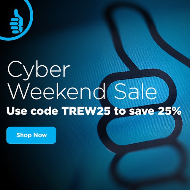 Now through next Monday!  #technylish #trew #trewgear #opportunityisknocking