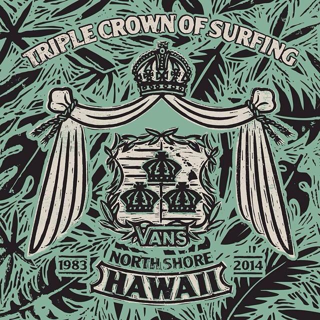 Comenzó la #VansWorldCup en el marco de la Triple Crown Of Surfing. Pueden seguir este #surf del altísimo nivel en VansTripleCrownOfSurfing.com