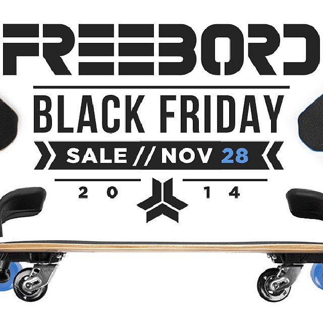 #BlackFriday starts now, up to $55 off #Freebord www.store.Freebord.com