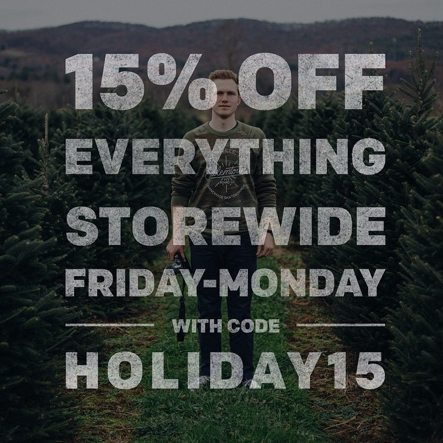 Grab all your holiday gear over at salemtownboardco.com. #handmade #blackfriday #skateboards