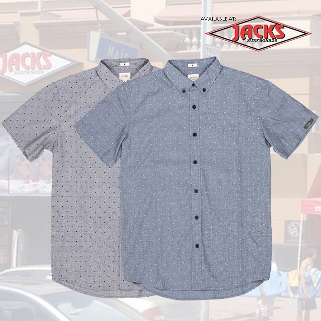Our new AUGUST woven... Available in grey and indigo right now at @jackssurf! #ambigclothing #jackssurf