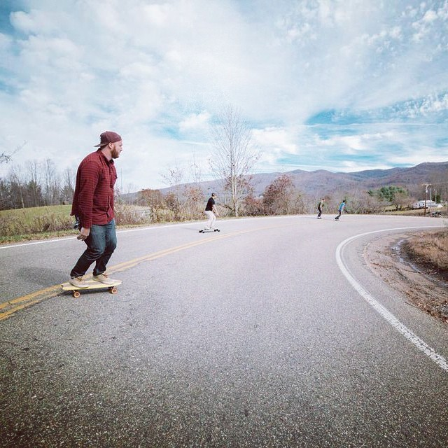 Go get yourself an oak cruiser and bomb a mountain. 15% off through Monday. Use code HOLIDAY15
