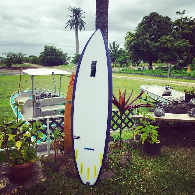 theStandard 5'11x19x2 5/16 #futureflex #futures #awesome #awesomesurfboards #madeincalifornia #tahiti