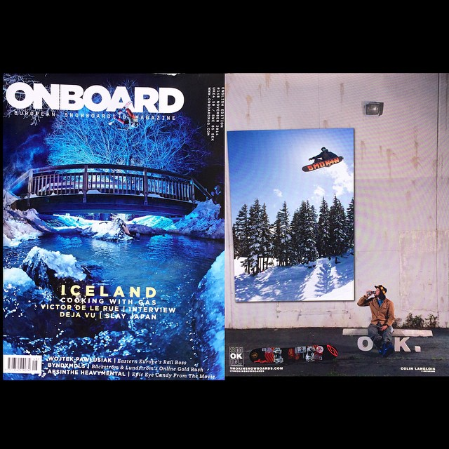 "@eldulche ad in the latest @onboardmag - thanks so much for the ad placement right at the front of the mag ! I love seeing the base of the #Jetson ""#powboard"" sending 20' + off the @ride7springs hip @ #superpark18 thanks also @motorhome and..."