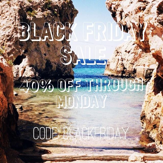 Black Friday Bikini Sale! 40% Swimwear!