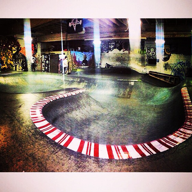 Regram @frankshaw_  @commonwealthskatepark #skateboarding #skatepark #looksfun #crete