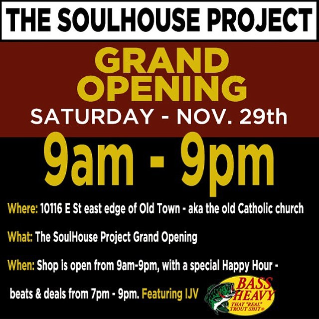 Stop by @soulhouseproject in #Truckee for their official #GrandOpening @ijv43 will be spinning and they are keeping the beers cold. It's great to see a fresh approach and a sense of community like they have going on. Give them a follow and stop by when...