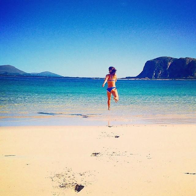 We'll meet you at the beach!!! Regram @insta_susi we love this photo!  #miolainaction #escape #beach #babe #endlesssummer #dreamingofsummer