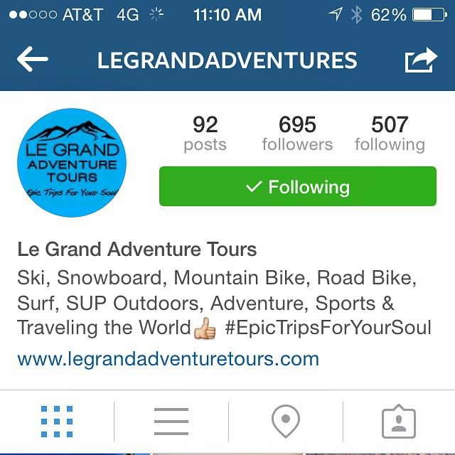 If you love adventure // follow @legrandadventures