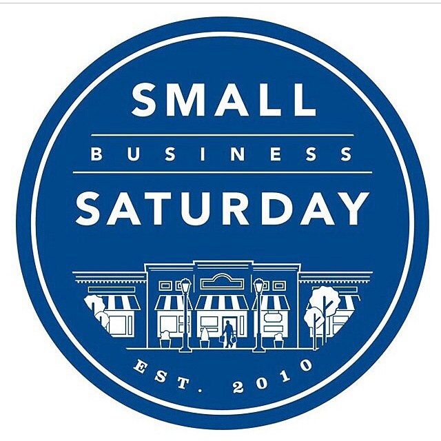 Today is great day! It's Small Business Saturday, a day to support your local community by shopping small