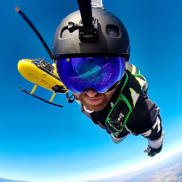 @griffinturner88 skydiving over the southern California coastline. GoPro HERO3+ | GoPole Arm #gopro #gopole #gopolearm #skydive Shop GoPole Black Friday Deals Now at GoPole.com.