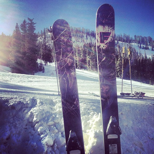 #maryjane is skiing pretty nice for November 29th! @winterparkresort