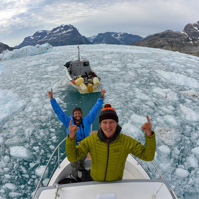 #MikeLibecki and @andy_mann spent a month in Greenland searching for untouched pieces of the planet. #GetOutStayOut