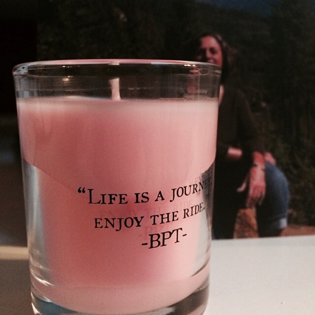 "Celebrate LIFE everyday | Today if you are not in attendance, light a candle at 3pm EST for Bonita ""Bonnie"" Peeters Tuscany"