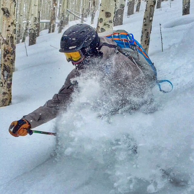 @abenaquista and his PowderKeg gettin it while the gettin's good at Vail. Or as an Austrian would call it, Wail. #PowderKeg #vail #colorado