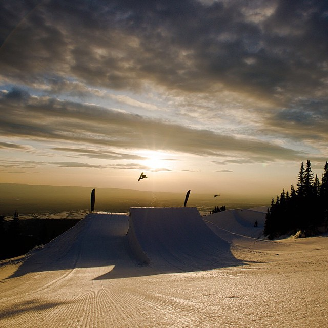 Send it!  Our World of X Games #PeacePark14 show will air TODAY at 2 pm ET/12 pm PT on ABC. (
