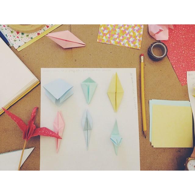 #origami en #campamentocraft