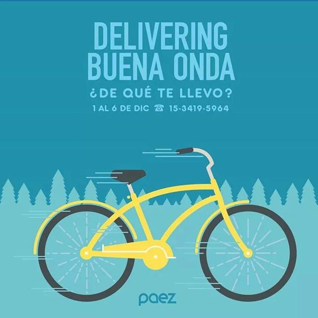 Volvió el frío ❄ no hay drama! Te llevamos tus #Paez hasta tu casa  #DeliveringBuenaOnda empieza mañana!