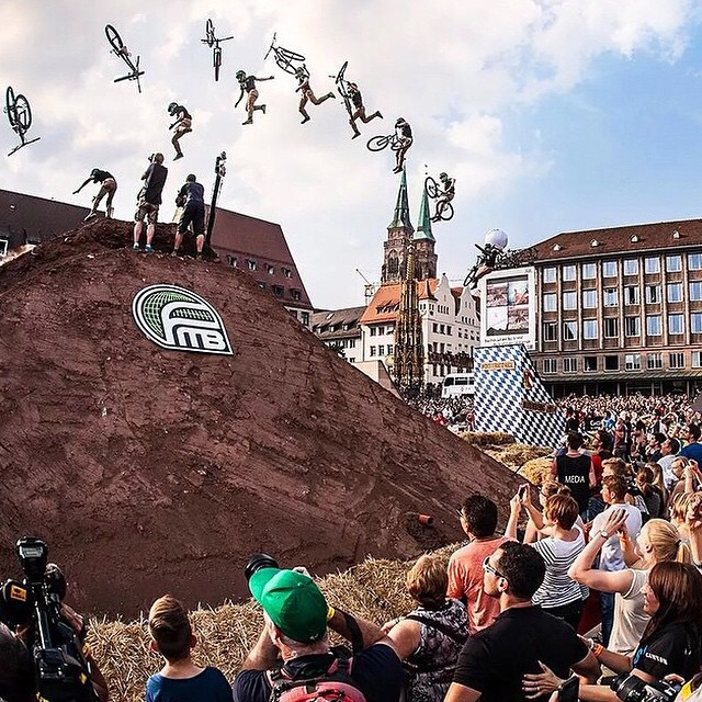 Do you like medieval architecture and big tricks? Tune into NBC right now to catch the last part of Redbull District Ride! So bummed @nicholirogatkin didn't land this huge triple whip! |