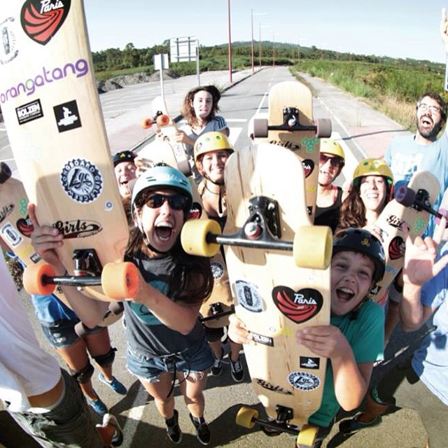 Throw back to this summer and the #LGC Camps. Too much fun!  We couldn't have done it without our amazing camps sponsors: @concretewave_skateshop  @paristruckco  @orangatangwheels  @triple8nyc &  #bolzenhardware  We teach with the best, so thank you!...