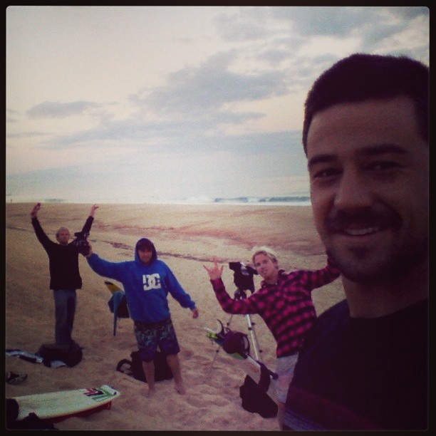 @lucassantamaria Último día en europa, desde el amanecer en Hossegor aprovechandolo a full! #globearg #globeargentina