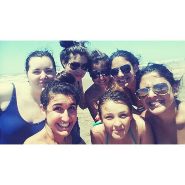 Unas semanitas y volvemos ♥ #amarlas #friends #beach #praia #playa #viaje #paz #instapic #instamoment #NuevaAtlantis