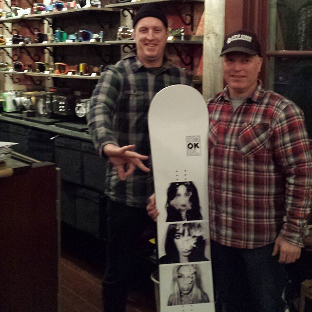 #hotoffthepress just dropped off some boards @soulhouseproject in #Truckee . They have made an old church into #thespot to hang out, check the latest snowboard flick, and buy your favorite brands. #supportyourlocalsnowboardshop #forridersbyriders...