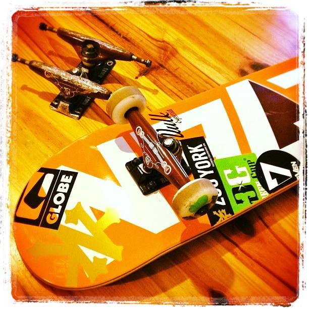 @luchicristobal Cambio! #Globearg #Globeargentina #skateboarding