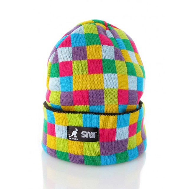 #TBT Multi-color @sneakersnstuff Pull-on Beanie #kangol