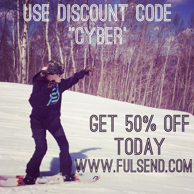 "Discount code ""cyber"" today only! #cybermonday #justsendit #snowboarding #skiing #carinthia #mountsnow #carinthiaparks #sendit #fulsend"
