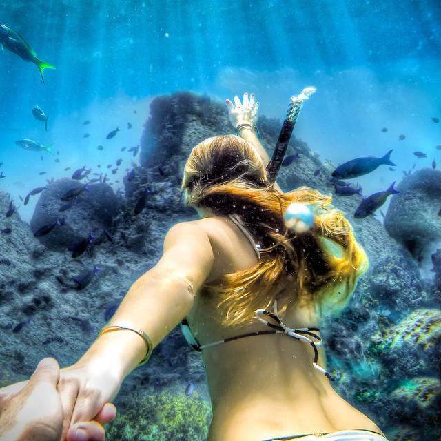 """Photo of the Day! @wleatherman takes @muradosmann's """"Follow Me"""" photo series to new depths. #FollowMe"""