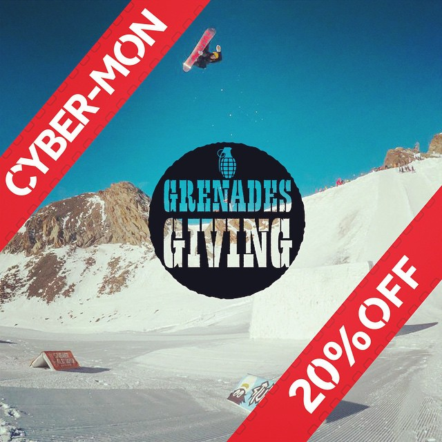 All of the new 2015 gear is up on our site and ready for you to get 20% off.  #GrenadesGiving #getsome #smart