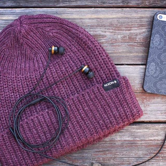 Today only, get 30% off The Encore, in-ear headphone—the perfect stocking stuffer—now on nixon.com. #nixonaudio