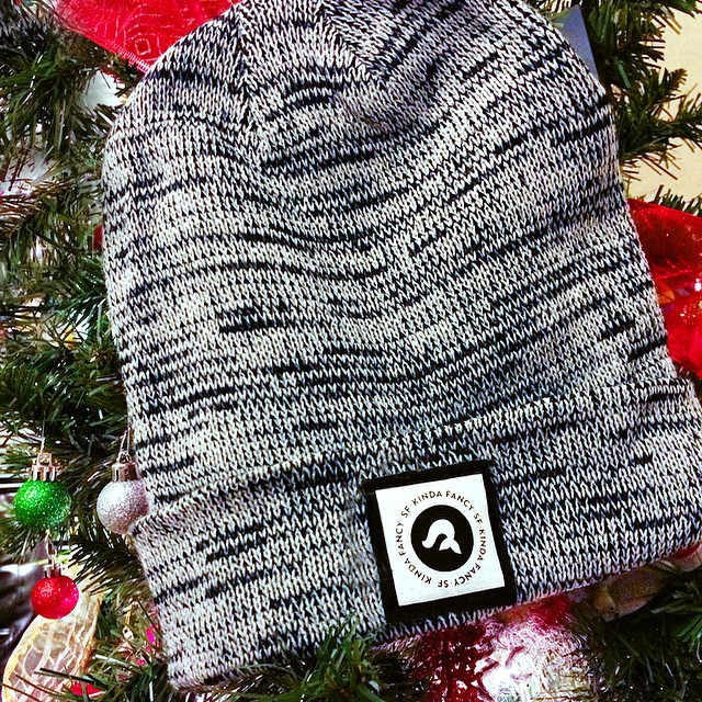 Today only, snag this bad boy FO FREE with a purchase over $100. Things you can put in a Kinda Fancy beanie? Your head, stupid. It's f#%&ing cold outside. #cybermonday #itsfreeyoushouldgetone #sanfrancisco #wintervibes
