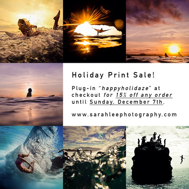 Limited holiday print sale on any photos in my print shop (www.sarahleephotography.com) until Sunday, December 7th! • If you're looking for a photo that's not on my site, send me an email: info@sarahleephotography.com • #cybermonday