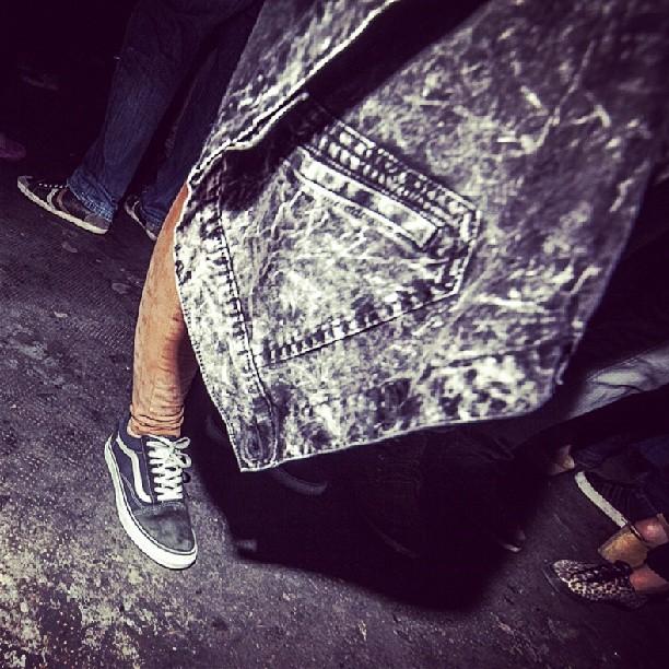 Vans Old Skool en el #Classicbuenosaires capturadas x @mechifahs. #culturavans x todos lados.