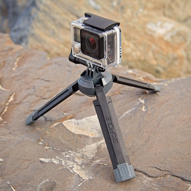 Tough and rugged, yet lightweight and portable. The action ready Base is at home in any environment. Learn More: GoPole.com/base #gopro #hero4 #gopole #gopolebase
