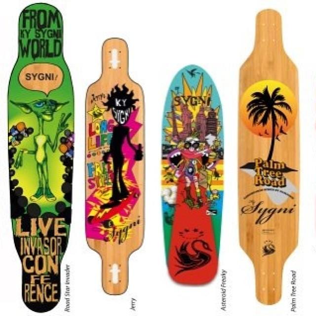 Decks KySygni #kysygni #skate #longboard #downhill