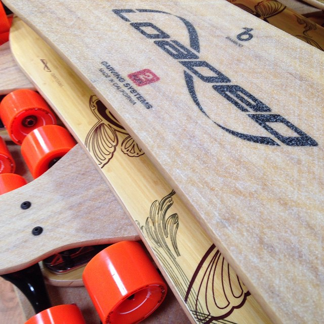 'Tis the season to go carving.  #loadedboards #loadedvanguard #orangatang #4president