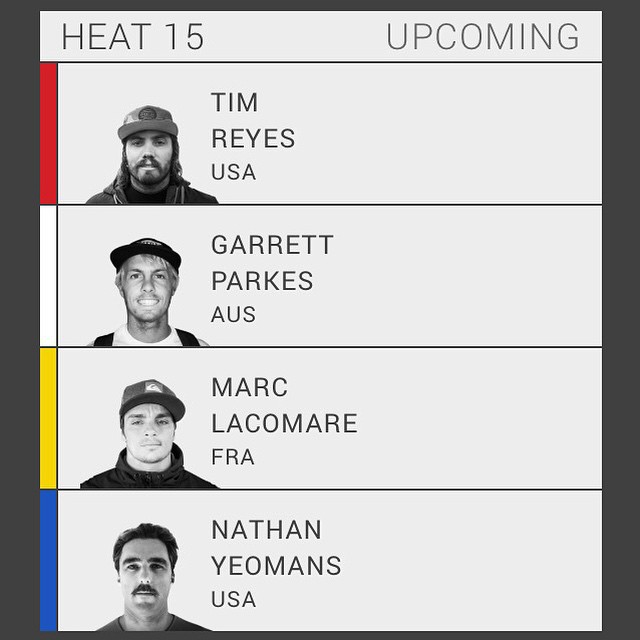 Stoked to see Hoven Pro Surfer Nate Yeomans compete today for the #VTCS title at #Sunset Beach, Northshore. Watch it LIVE - aspworldtour.com 5pm PST #vansworldcup #hovenvision #northshore #surf @bigdeluxe_