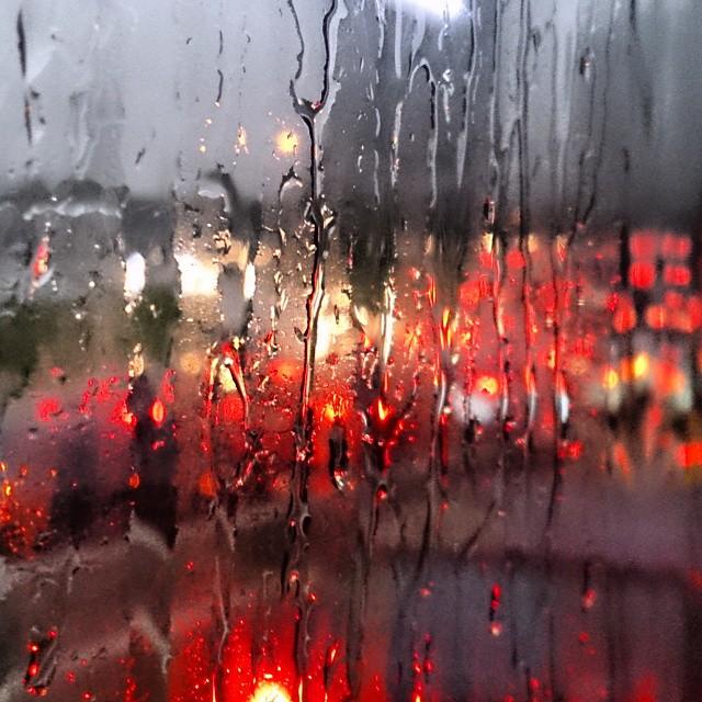 #rain #traffic #panama #AvBalboa #panamacity
