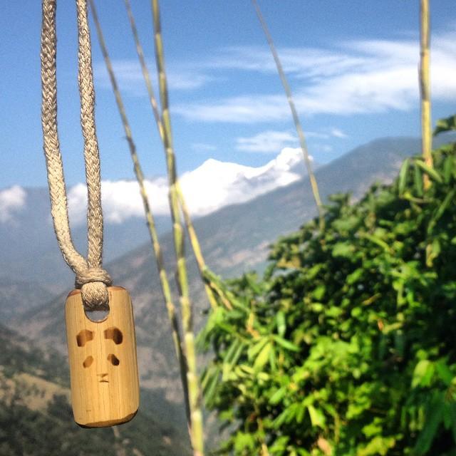 Bamboo in the Himalaya... Panda necklaces available at www.pandapoles.com/collections/swag... #TribeUP Himalaya!  Photo: @bcoff_  #PandaPoles